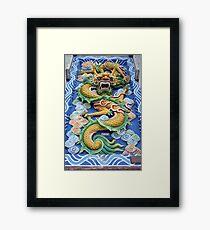 Chinese zodiac sign Framed Print