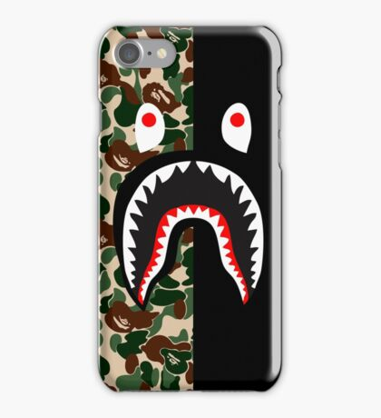 army black shark camo iPhone Case/Skin