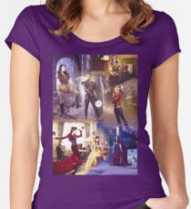 Once Upon A Time - main cast Women's Fitted Scoop T-Shirt