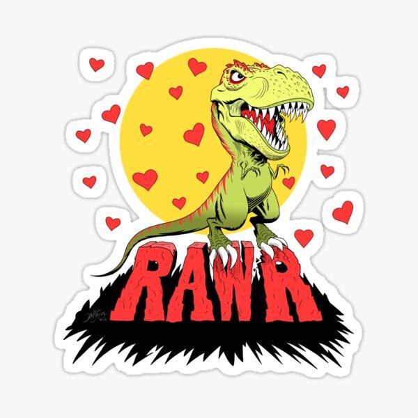 Love Rex Sticker