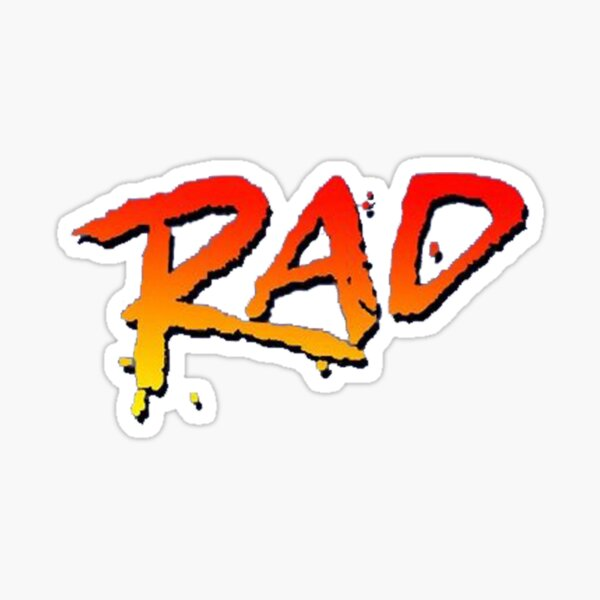 FILM RAD BMX 1986 Sticker