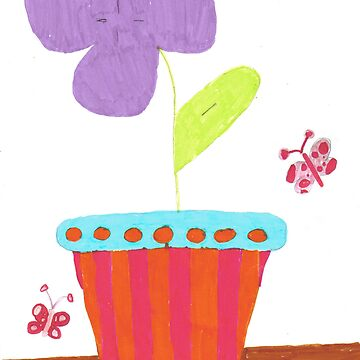 The Flower Pot by Raya