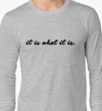 Sherlock/Johnlock - It Is What It Is T-Shirt
