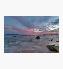 bar beach Newcastle nsw Photographic Print