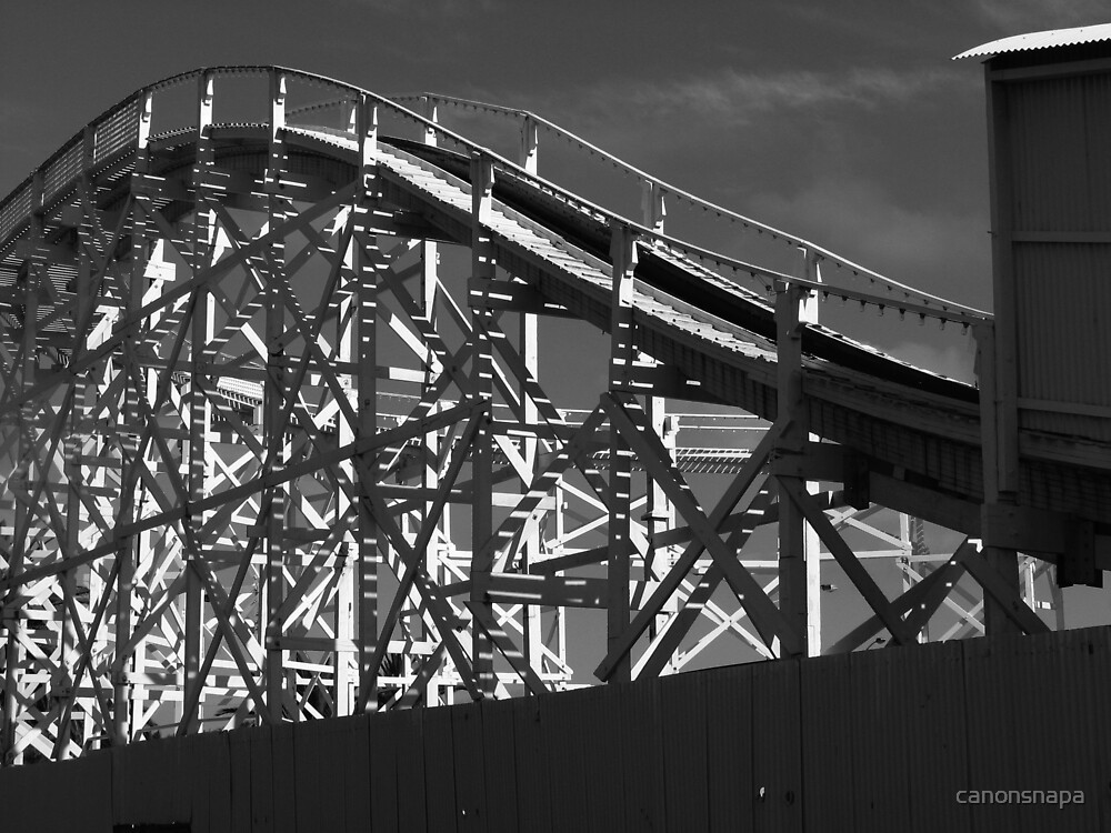 rollercoaster  by canonsnapa