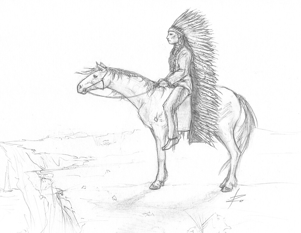 American Indian by wyvex