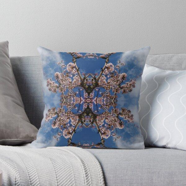 Blossom Burst #1 Throw Pillow