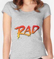 RAD BMX MOVIE 1986 Women's Fitted Scoop T-Shirt