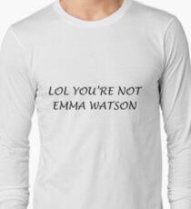 emma watson Long Sleeve T-Shirt