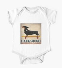 Dachshund Longboards Kids Clothes