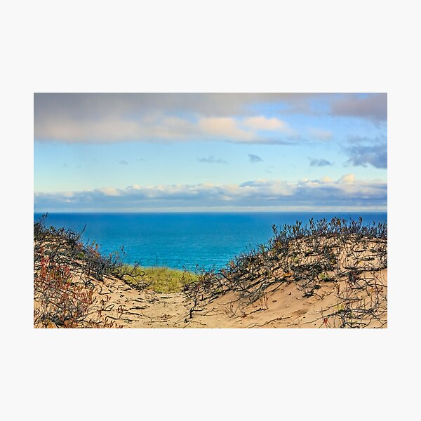 Grand Sable Dunes and Lake Superior Photographic Print