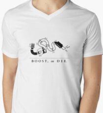 Boost or die Men's V-Neck T-Shirt