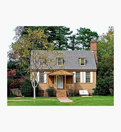 Little Country Home Photographic Print