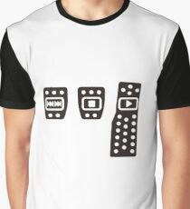Play with pedals Graphic T-Shirt