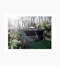 Carey's Hut - Barrington Tops Art Print