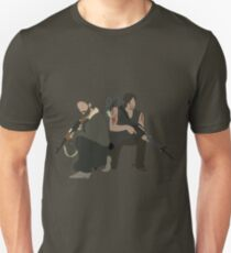 Daryl Dixon und Rick Grimes - The Walking Dead Unisex T-Shirt