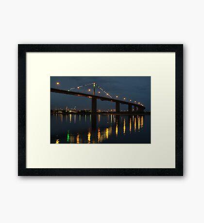 West Gate Bridge Framed Print