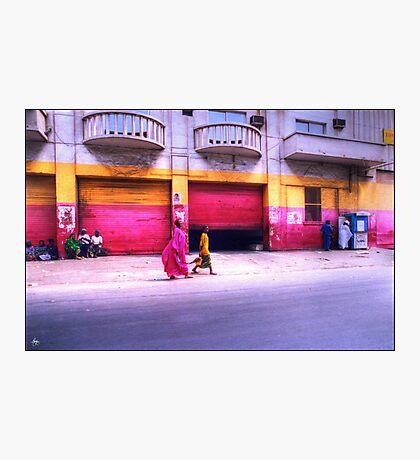 Colors on the Streets of Dakar Senegal Photographic Print