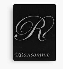 Ransomme 2 Canvas Print