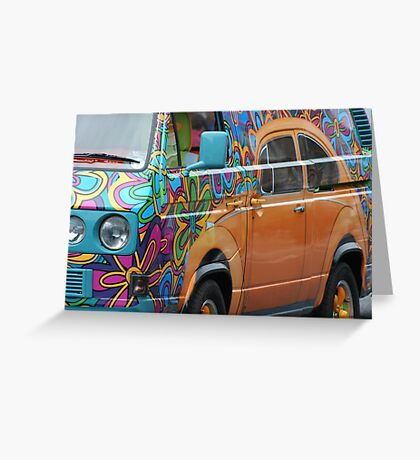 Transporter of Delight Greeting Card