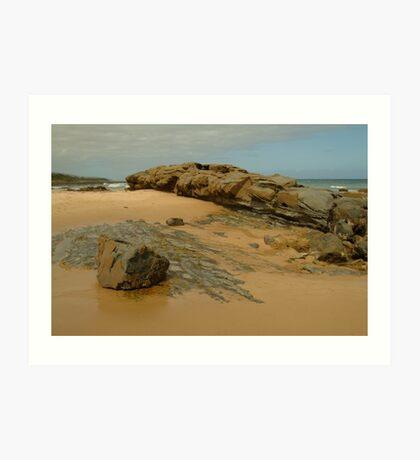 Foreshore Skenes Creek,Great Ocean Rd Art Print
