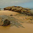 Foreshore Skenes Creek,Great Ocean Rd by Joe Mortelliti