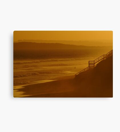 Wave Rider,13th Beach Canvas Print