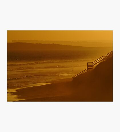 Wave Rider,13th Beach Photographic Print