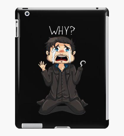 Tiny Hook - Why? (Dark) iPad Case/Skin