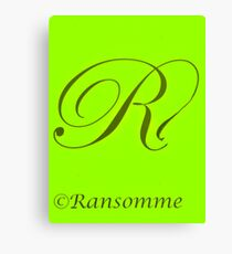 Ransomme 4 Canvas Print
