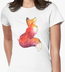 The Fox Women's Fitted T-Shirt
