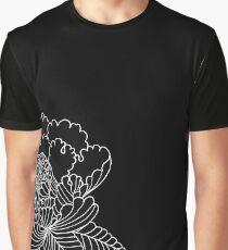 Inverted Peony Graphic T-Shirt