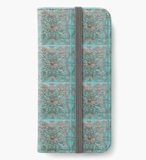 Copper Aged Tin Ceiling Tiles | Texture iPhone Wallet/Case/Skin