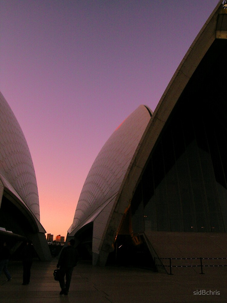 Opera at Sunset by sid8chris
