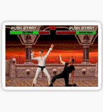 DAYMAN VS NIGHTMAN Sticker