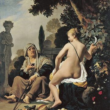 Caesar Van Everdingen - Vertumnus And Pomona by artcenter