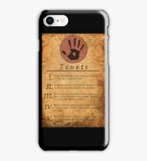 The Elder Scrolls V: Skyrim - Dark Brotherhood Tenents iPhone 8 Case