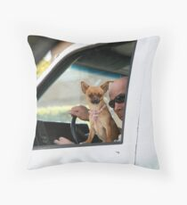 Pimp dog Throw Pillow