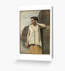 Camille Corot - History Greeting Card