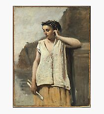 Camille Corot - History Photographic Print