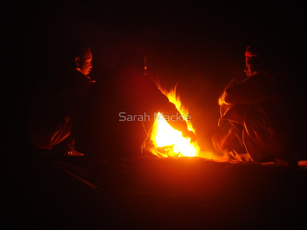 Gather around the campfire by Sarah Mackie