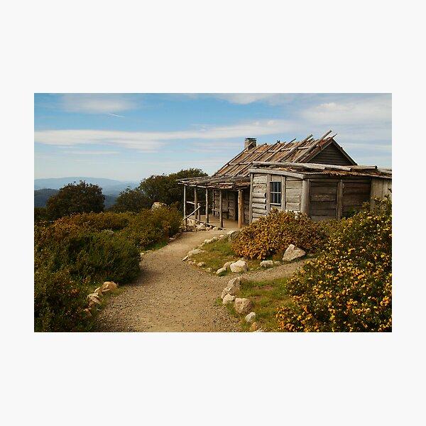 Craig's Hut Photographic Print