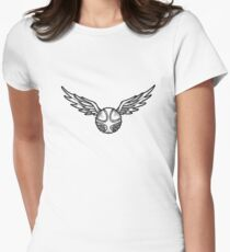 Golden Snitch Women's Fitted T-Shirt