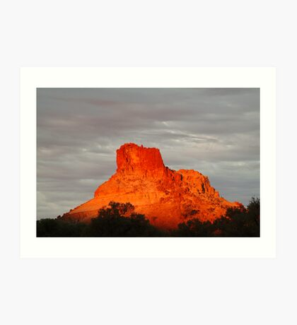 Goyder's Pillar, North Simpson Desert,N.T. Art Print