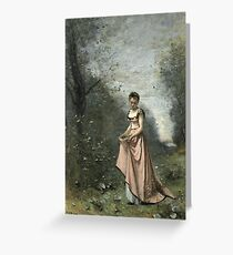 Camille Corot - Springtime Of Life Greeting Card