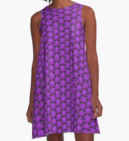 Passion for Purple Design by Julie Everhart A-Line Dress