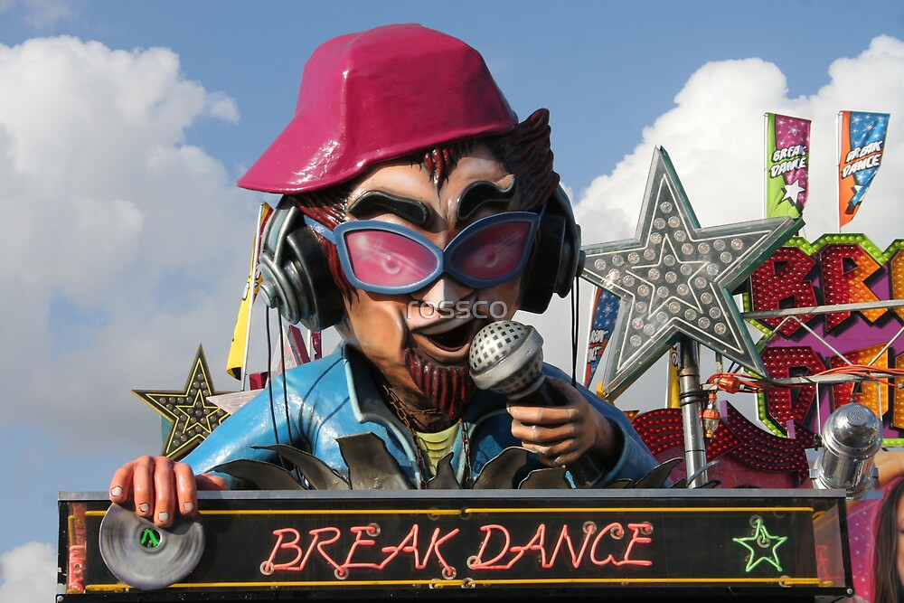 The Break Dance Amusement Ride by rossco