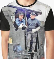 Drivers steam locomotive Graphic T-Shirt
