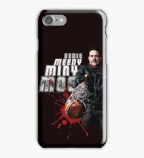 The Walking Dead - Negan (black) iPhone Case/Skin