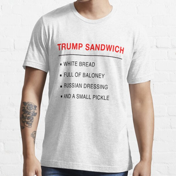 Trump Sandwich Funny Anti Trump Design Essential T-Shirt